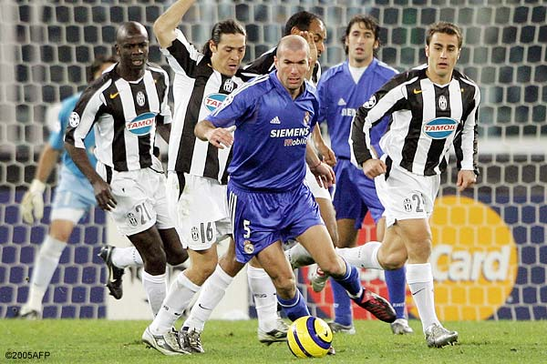 2005 реал мадрид ювентус 1- 0
